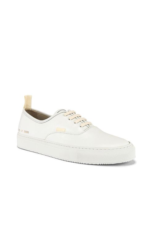 Common Projects Four Hole in Leather Low Sneaker
