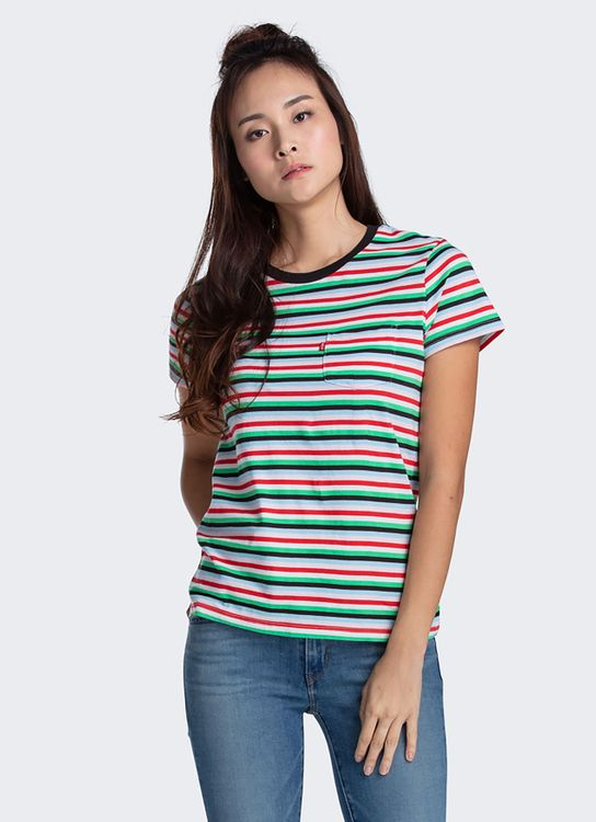 Levi's Levi's The Perfect Crew Kagul Multi Stripe (18672-0172)