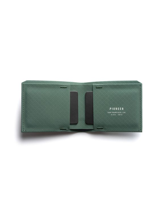 Pioneer Pioneer The Flyfold Wallet 3PN Evergreen