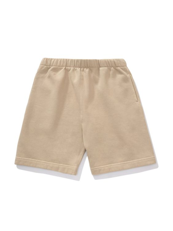 Lady White Co. Lady White Co. Sweatshort Beige