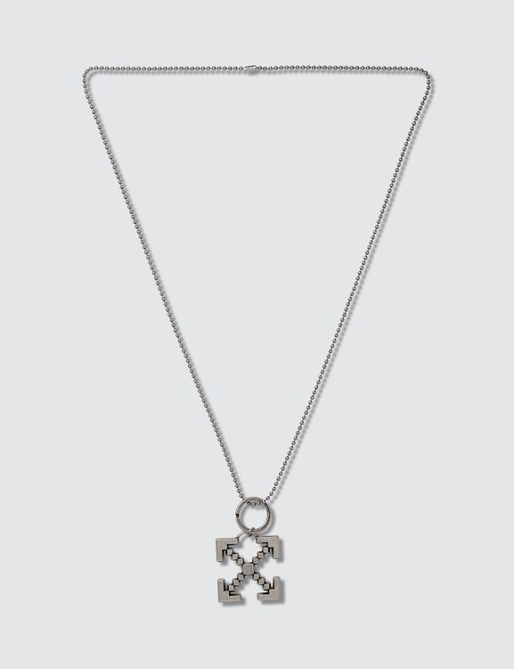 Off-White Scaffolding Necklace