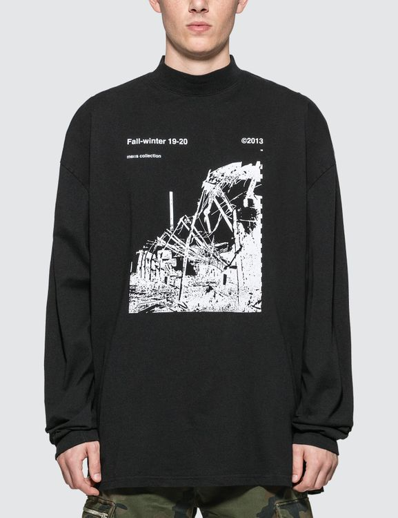 Off-White Ruined Factory Over Mock T-Shirt