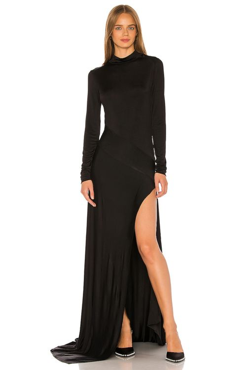 Michael Lo Sordo Empire Jersey Gown