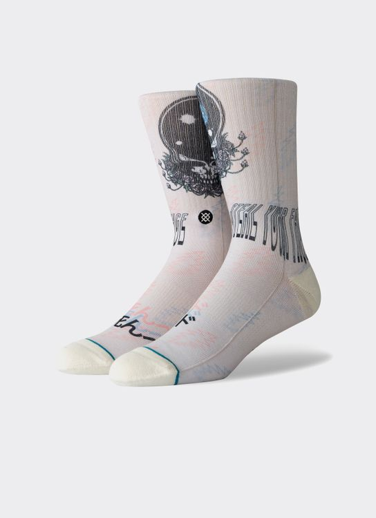 Stance Socks Stance Steal Your Face (L) - Natural - 1000232084119Y