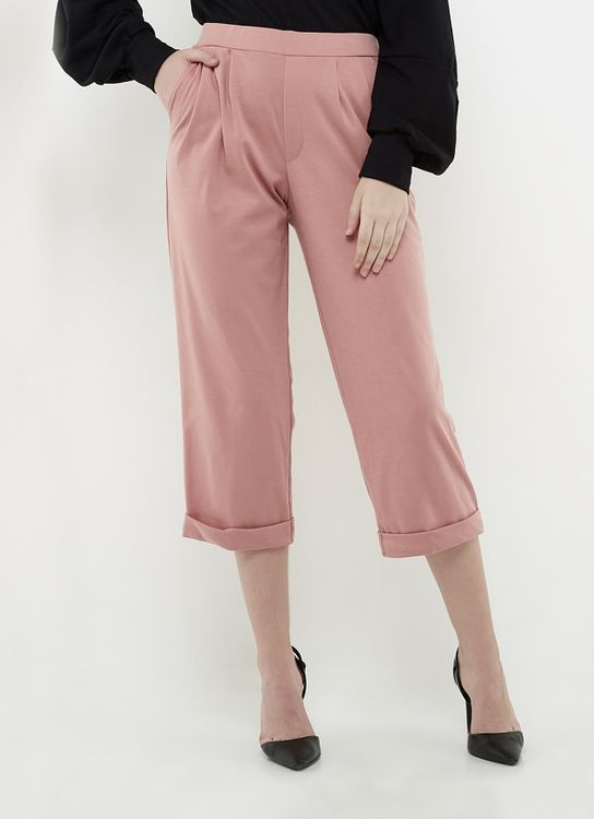 Ree Easy Pants - Dusty Pink