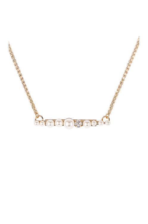 Anton Heunis Pearl Cluster Necklace