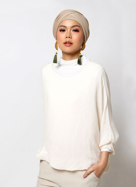 Sayee Simple Blouse - White