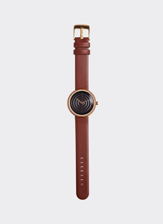 Lima Watch Lima Zenga Teak - Coffee