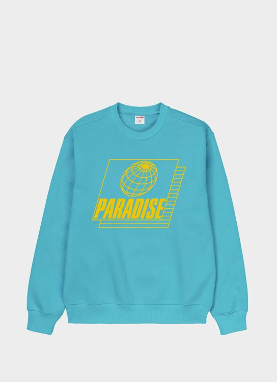 Paradise Youth Club Stretch Sweater - Turquoise