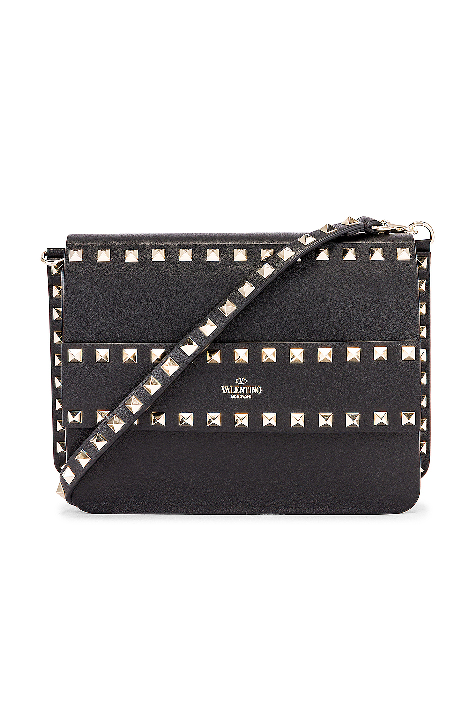 save up to 60% deft design customers first Rockstud Crossbody Camera Bag, Valentino