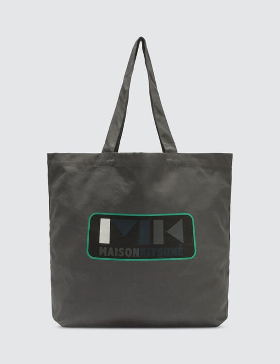 MAISON KITSUNE MK Play Tote Bag
