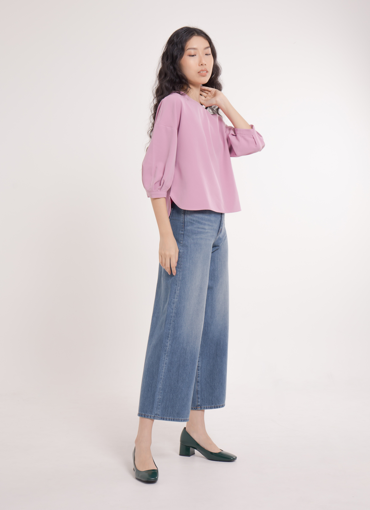 Earth, Music & Ecology Naomi Top - Pink