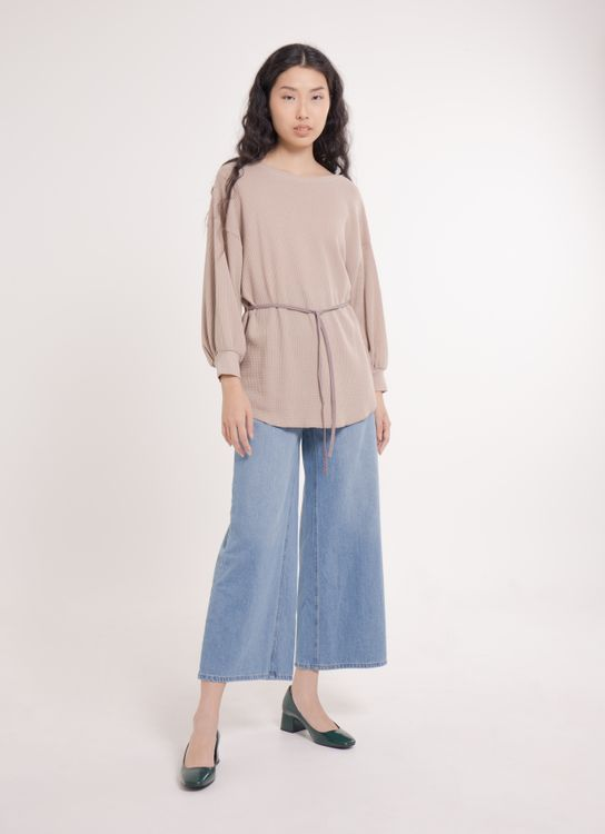 E-hyphen World Gallery Risa Top - Beige