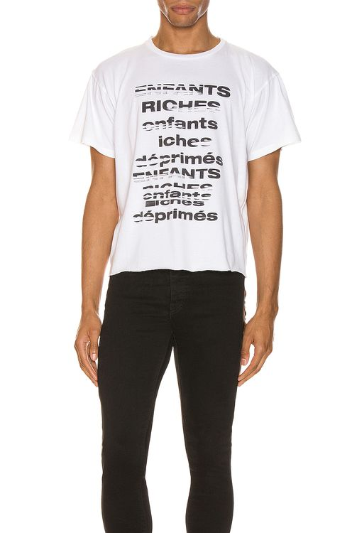 Enfants Riches Deprimes ERD TV Static Short Sleeve Tee