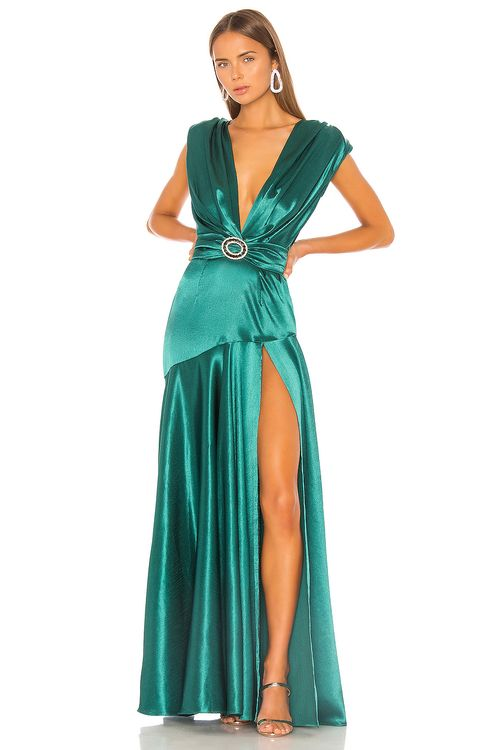 Bronx and Banco Romi Emerald Gown