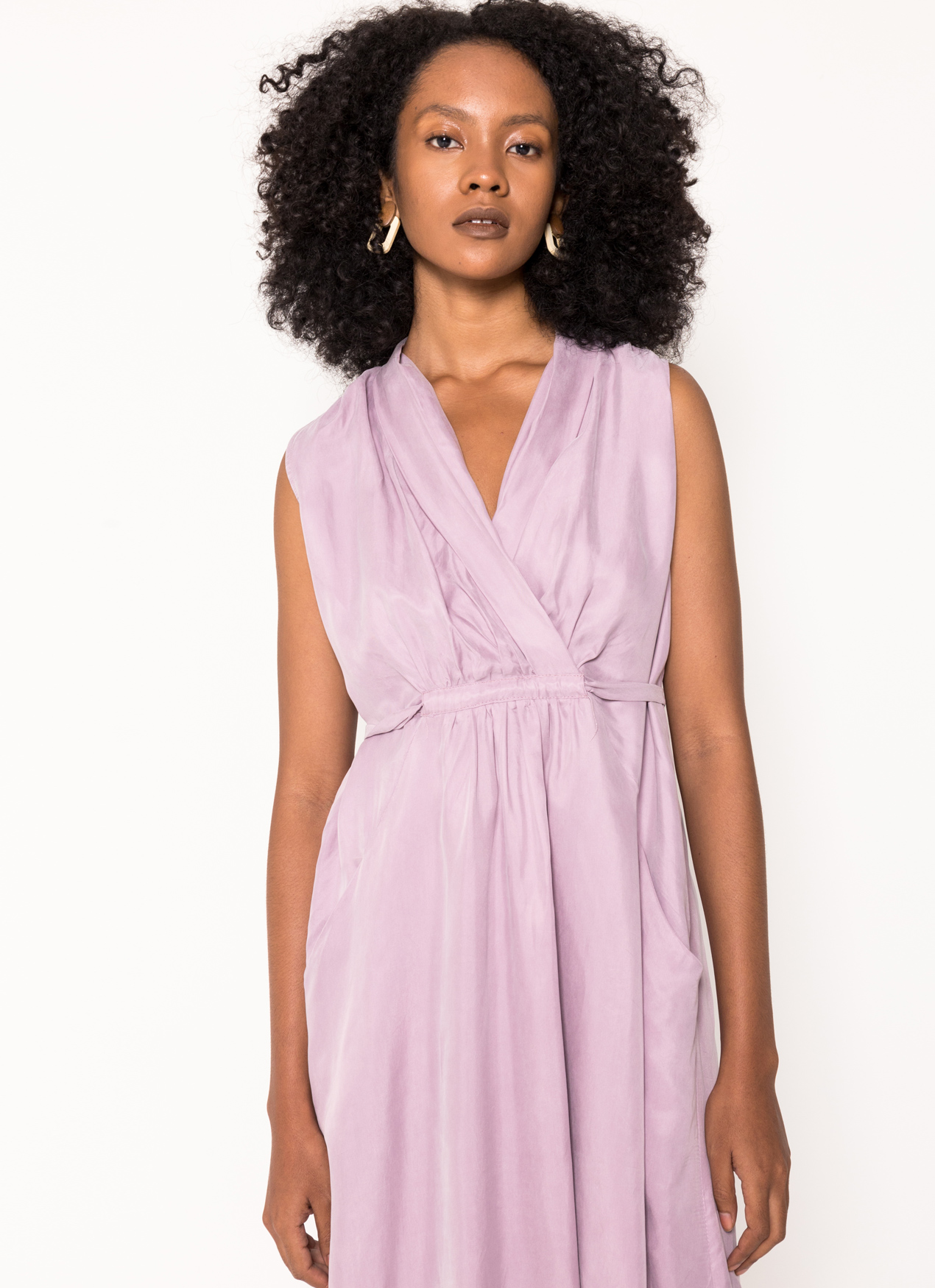 BOWN Analeigh Dress - Purple
