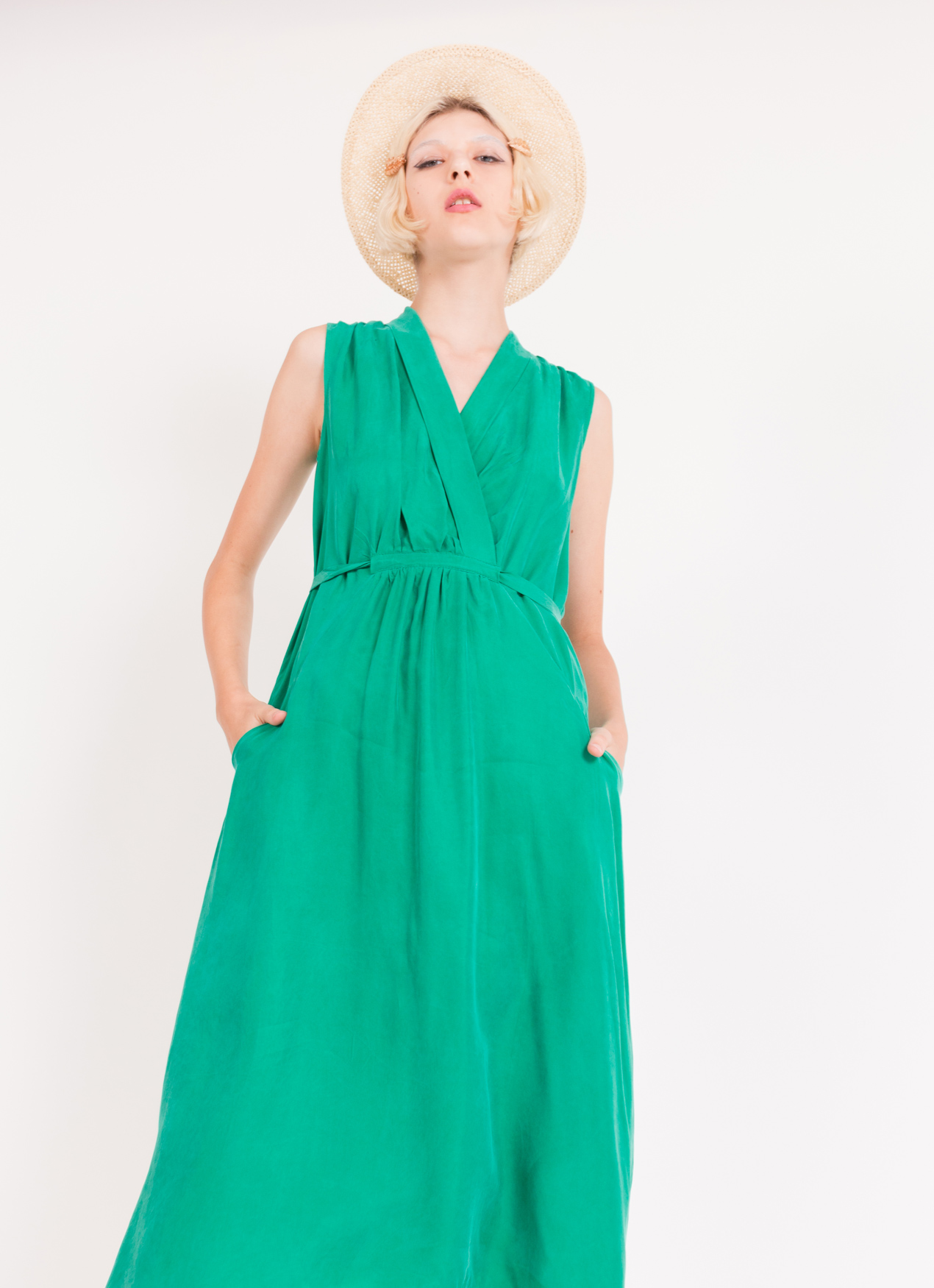 BOWN Analeigh Dress - Green