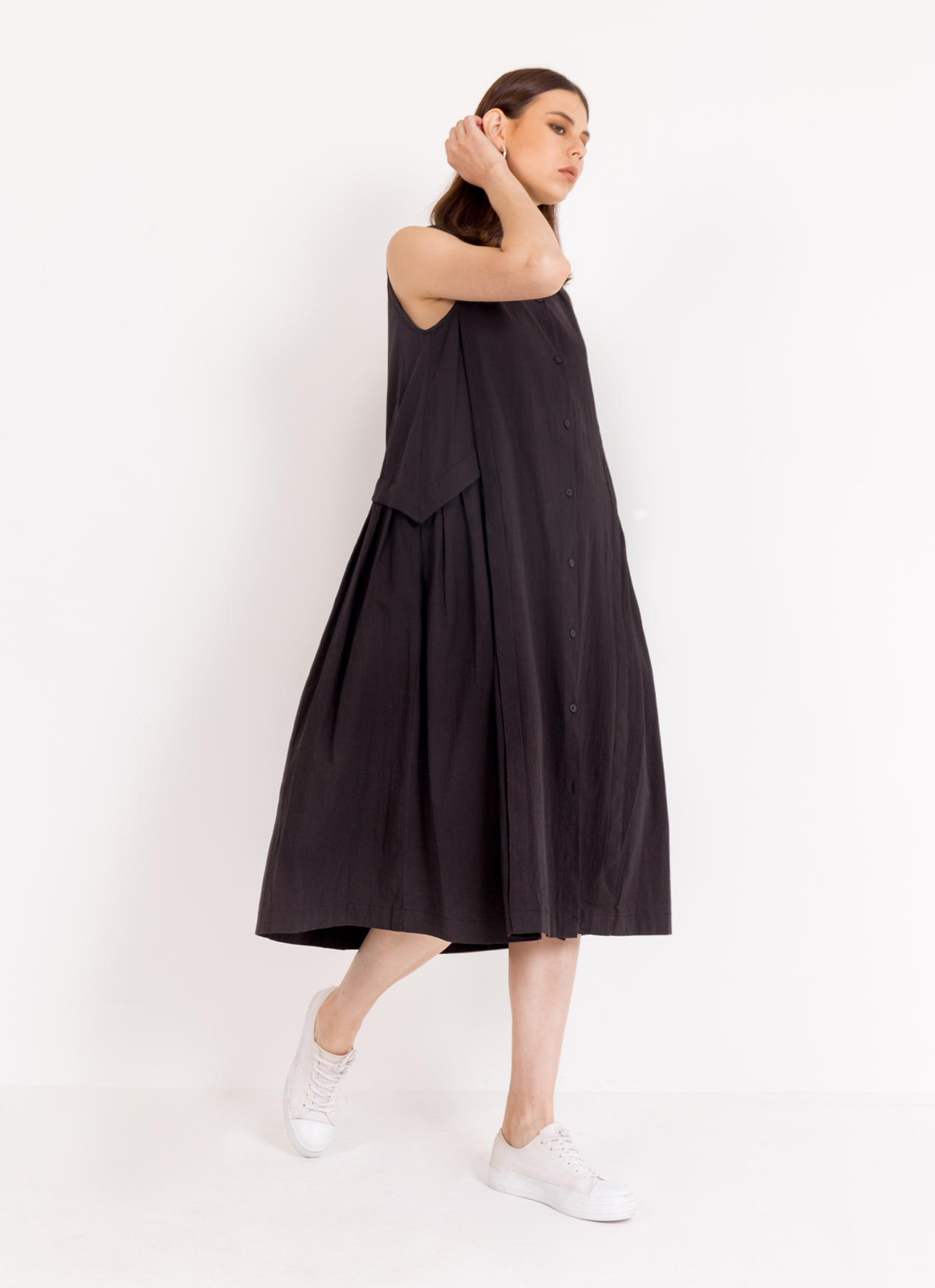 BOWN Greta Dress - Black