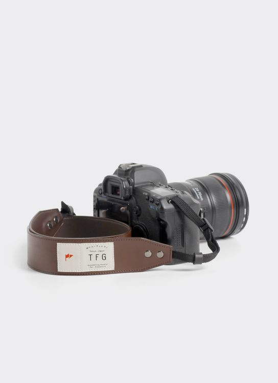 Taylor Fine Goods Taylor Fine Goods Camera Strap Hugo 203 - Brown