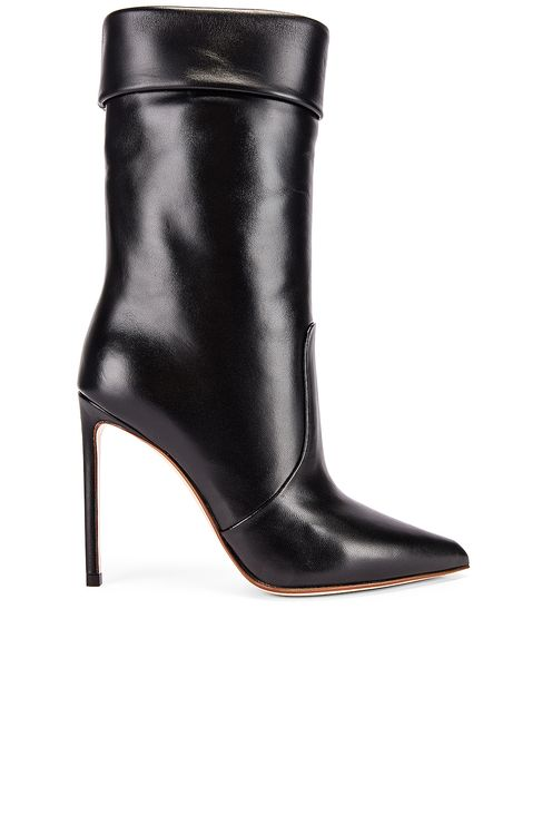 Francesco Russo Leather Booties