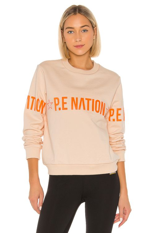 P.E Nation Exposure Sweatshirt