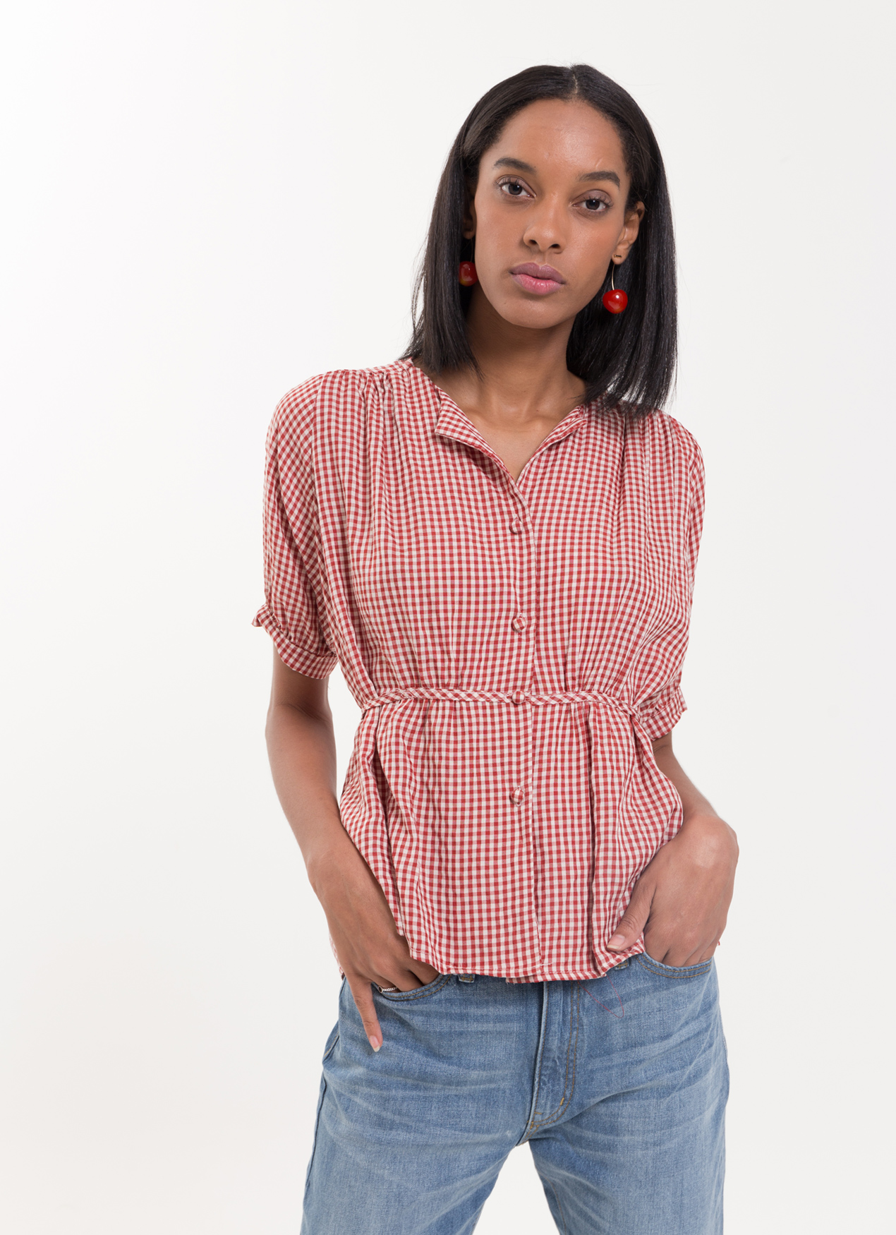 BOWN Karleen Shirt - Red