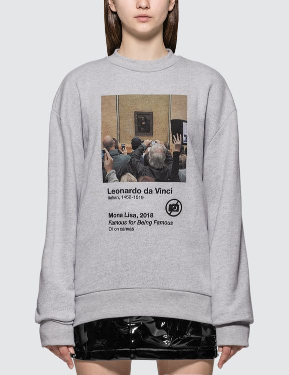 Urban Sophistication Famous For Being Famous Sweatshirt