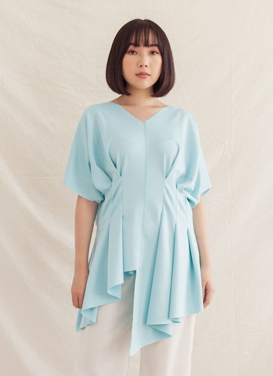 Ralyka Sandra Top - Blue