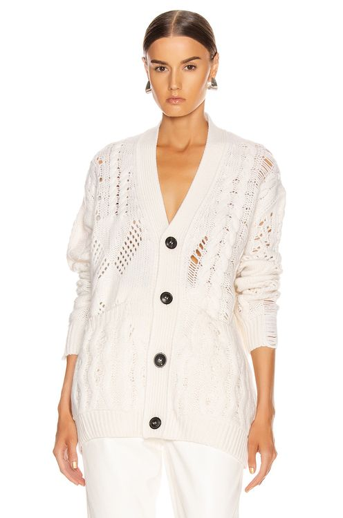 Amiri Multipoint Short Cardigan
