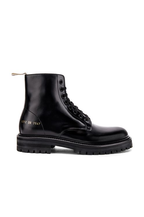 Common Projects Standard Lug Sole Combat Boot