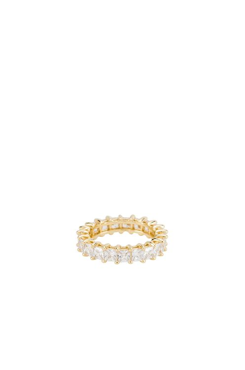 The M Jewelers NY The Princess Cut Eternity Band