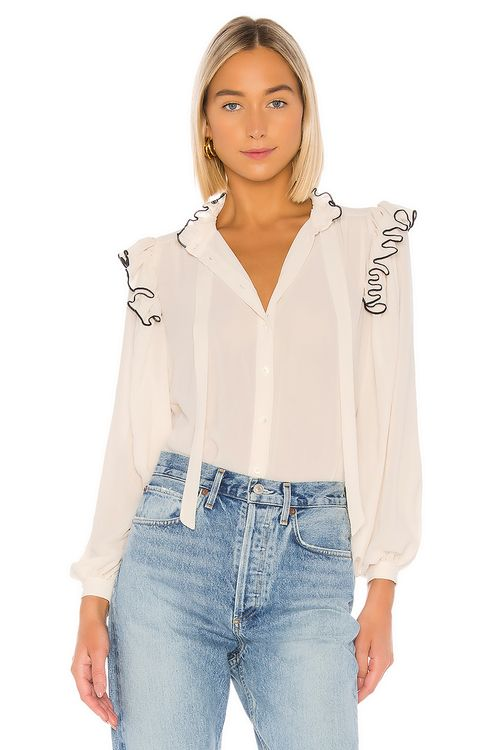 ICONS Objects of Devotion Secretary Blouse