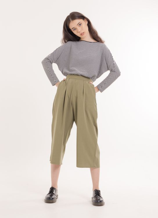 Green Parks Jin Pants - Khaki