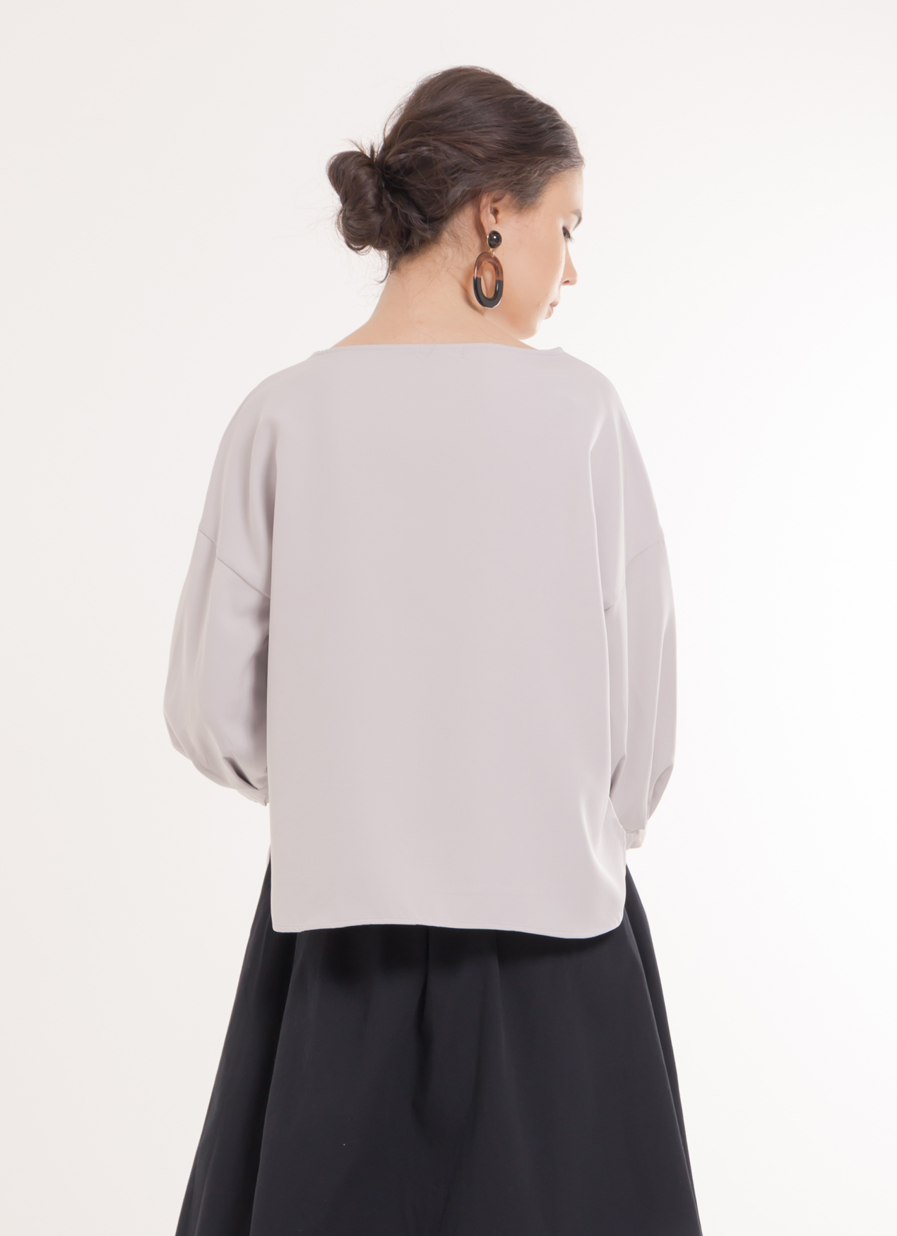 Earth, Music & Ecology Naomi Top - Gray