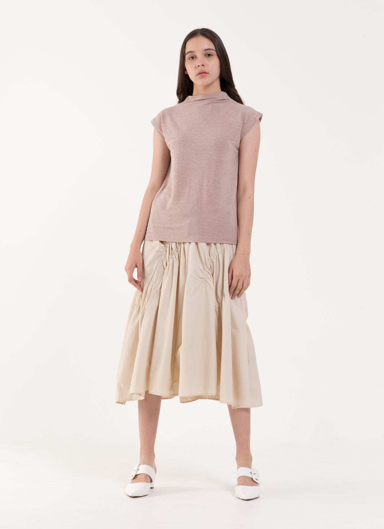BOWN Joce Top - Dusty Pink