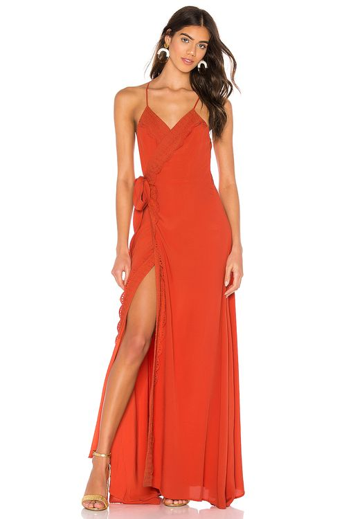 The Jetset Diaries Tell Me Baby Maxi Dress