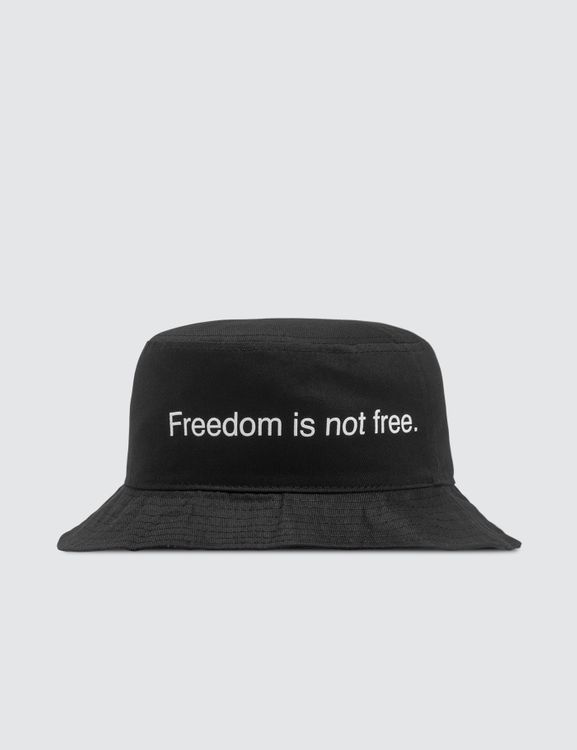 F.A.M.T. Freedom Is Not Free. Bucket Hat