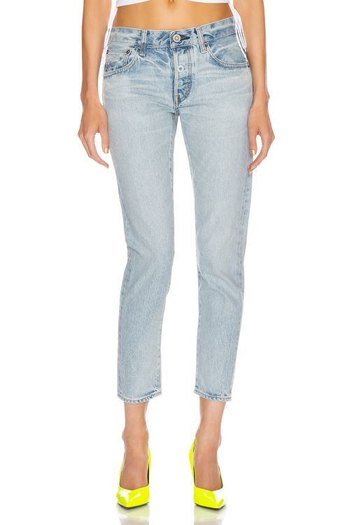 Moussy Vintage Camilla Tapered Straight Leg