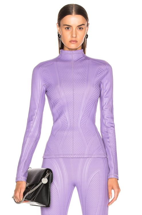 Mugler Long Sleeve Sport Top