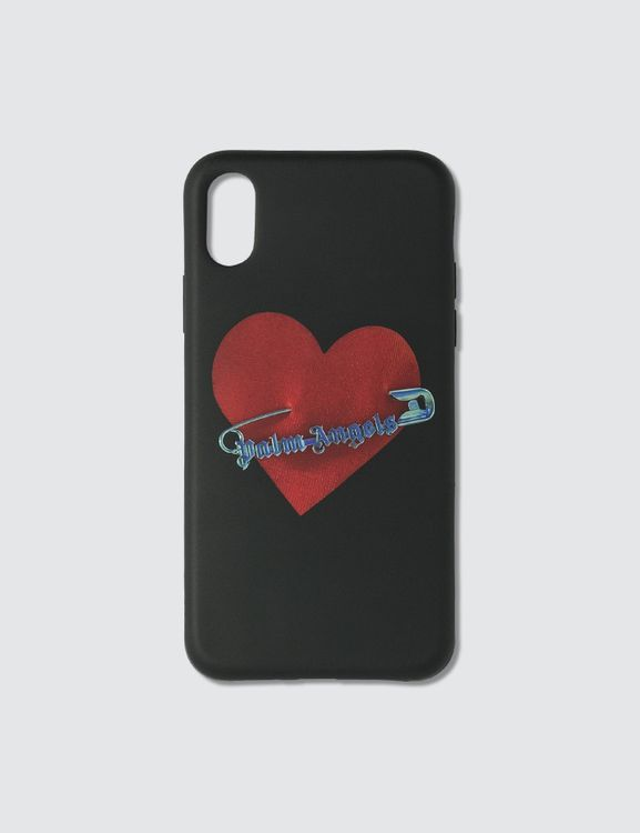 Palm Angels Pin My Heart iPhone X Case