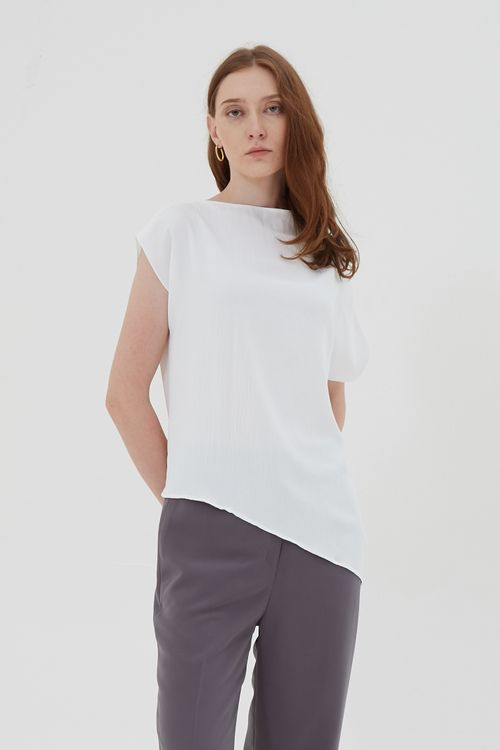 Shopatvelvet Corso Top White