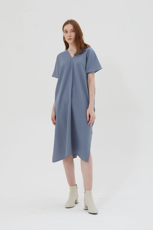Shopatvelvet Elevation Dress Blue