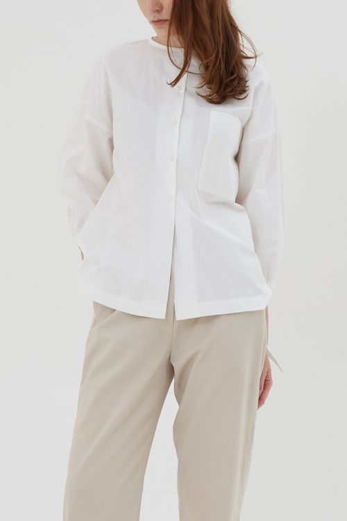 Shopatvelvet Gaia Blouse White