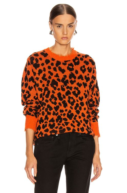 R13 Leopard Sweater