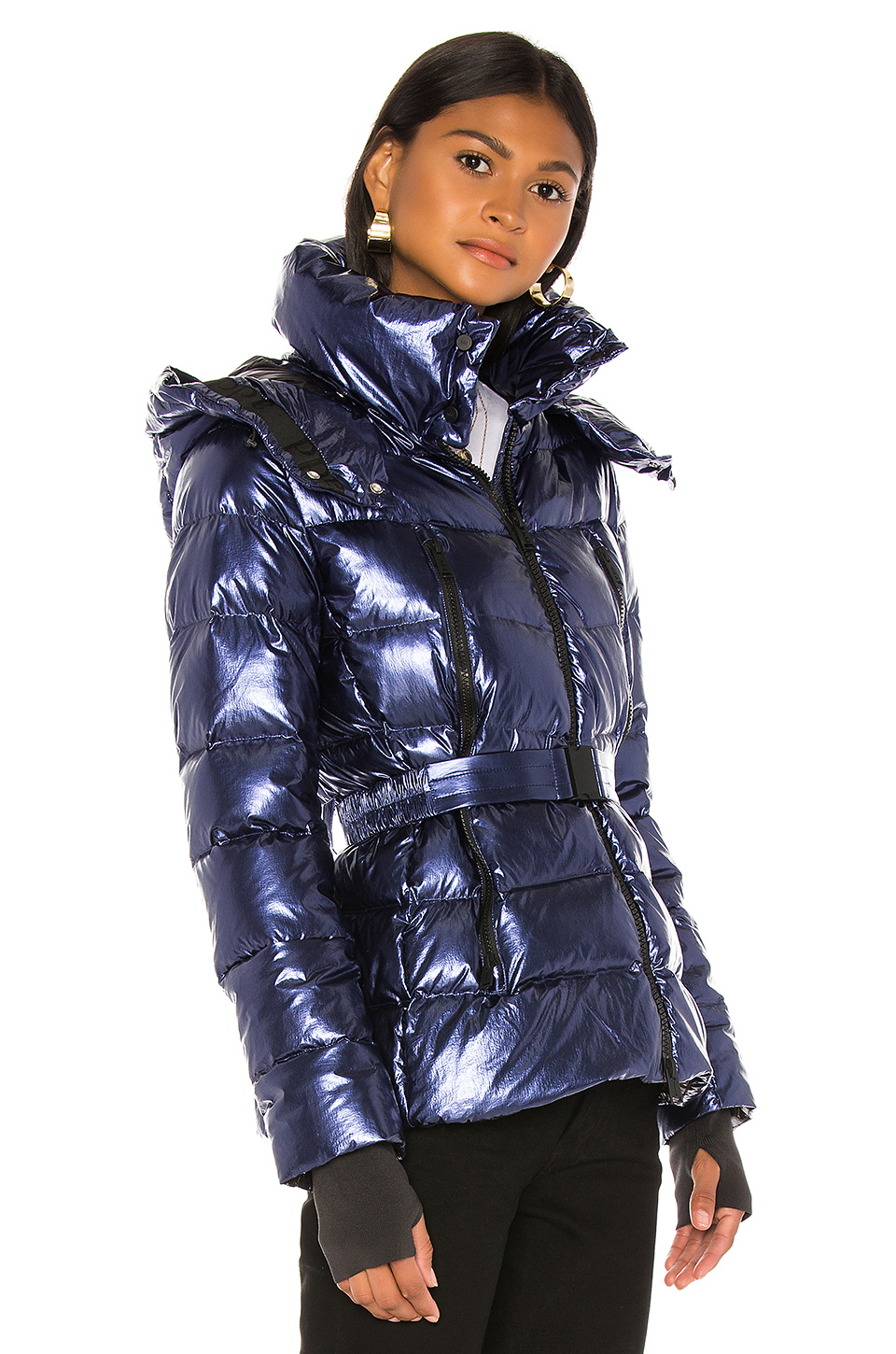 ADD Down Jacket With Detachable Hood