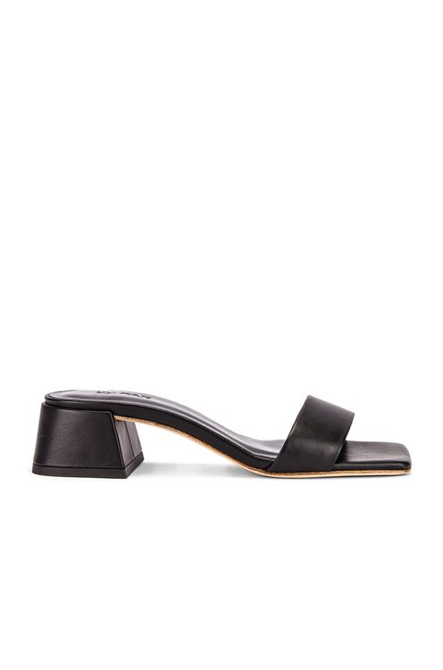 By Far Courtney Leather Sandal