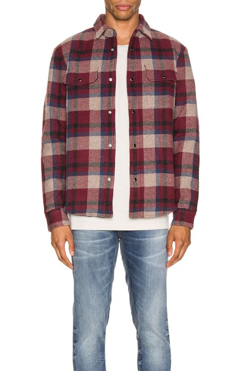 JOHN ELLIOTT Jupiter Plaid Shirt