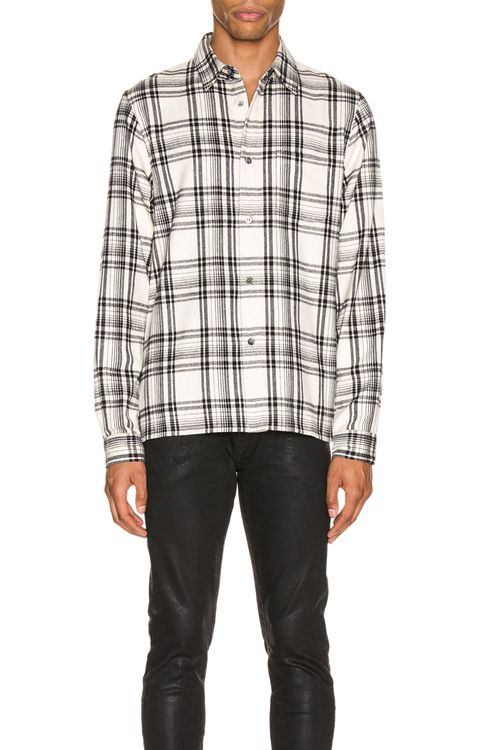 JOHN ELLIOTT Straight Hem Shirt