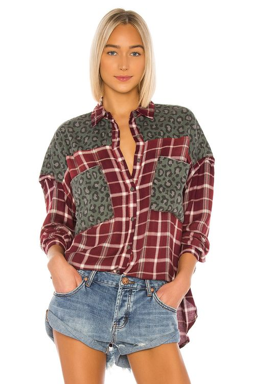 One Teaspoon Motley Shirt