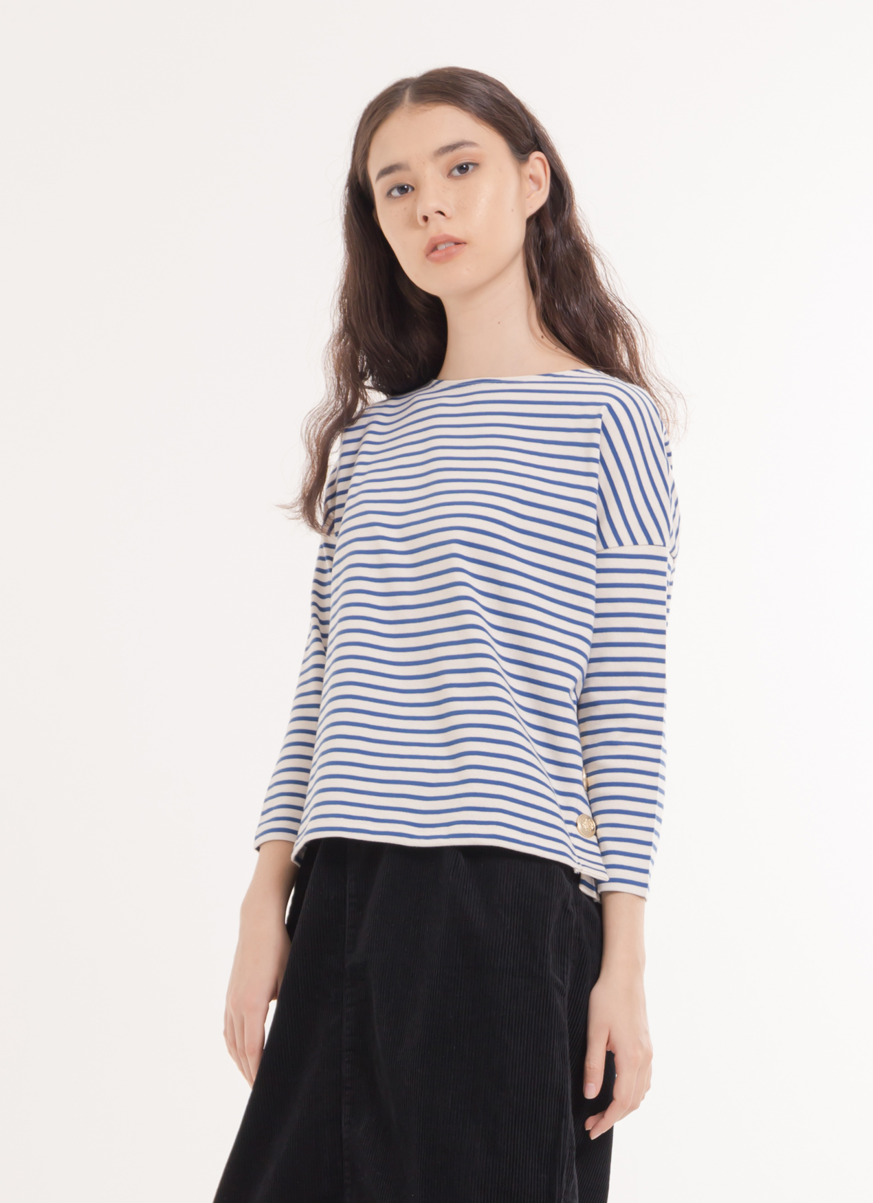 Earth, Music & Ecology Ami Top - Blue